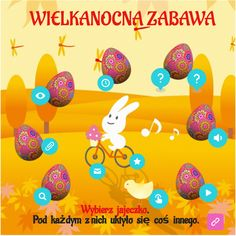 Wielkanocna Zabawa by wrobellucyna on Genially Easter Eggs, The Incredibles, Make It Yourself, Education, Onderwijs, Learning