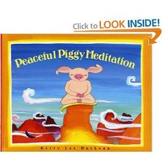 Sometimes life seems like it's all about hurrying--so many places to go! And sometimes it's hard when things don't go your way--it can make a piggy angry and sad. So how do young piggies find a peaceful place in a frustrating world? They meditate!