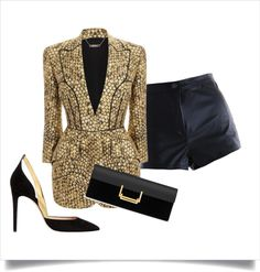 """""""A night of Glam"""" by newagemom on Polyvore"""