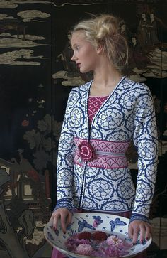 beautiful Norwegian sweater company, Oleana << love their stuff! Have one of their beautiful blue scarves.