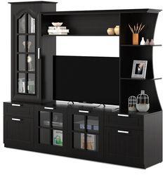 Tv Cabinet Design Modern, Tv Cupboard Design, Bedroom Cupboard Designs, Modern Tv Room, Modern Tv Wall Units, Modern Living, Tv Unit Furniture Design, Tv Unit Interior Design, Living Room Tv Unit Designs