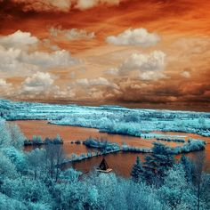 Infrared Landscapes by David Keochkerian