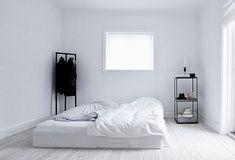 White and minimalistic bedrooms | Vosgesparis | Bloglovin'