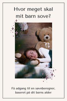 Vil du have adgang til en søvnberegner, som fortæller dig om dit barns søvnbehov baseret på barnets alder? Det får du med denne app. Klik og læs mere. Teddy Bear, Animals, Animales, Animaux, Teddy Bears, Animal, Animais