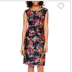 Offernwot Worthington Floral Dress