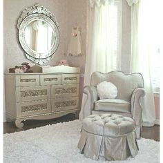 Aspen Empire Glider In Choice Of Color : Gliders And Chairs at PoshTots, nursery, baby, glam