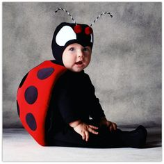 Great selection of Animal Costumes for kids. We have gorilla costumes, bear costumes, dinosaur costumes, ladybug costumes, tiger costumes and more. Buy your kids Animal Costume from the costume authority at Halloween Express. Great Halloween Costumes, Cute Costumes, Baby Costumes, Halloween 2013, Baby Kostüm, Baby Bug, Carnival Dress, Fantasias Halloween, Cute Kids