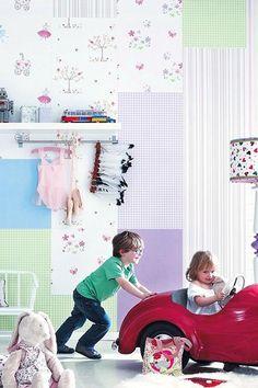 OH!!! Ideal idealísimo!!! Haz tu propio patchwork con los papeles de nuestra tienda online. ¡Suerte y sed creativos! http://www.papelpintadoeconomico.com/
