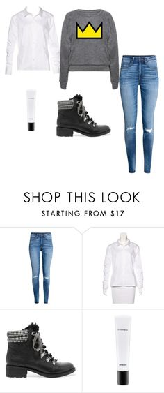 """Riverdale school day outfit #2/Betty costume"" by taymorgan10987 on Polyvore featuring H&M, Robert Rodriguez, Sam Edelman and MAC Cosmetics"