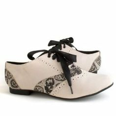 Iron Fist Lovelace Oxford Cream Bling Shoes, Shoes Heels, Cream Shoes, Oxford Flats, Shoe Shop, Iron Fist, Designer Shoes, Me Too Shoes, Fashion Brands