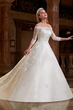 Wedding gown by Mary's Bridal