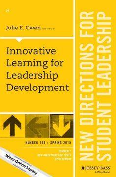 Innovative learning for leadership development / Julie E. Owen, editor.  Chapter 3 is written by Jennifer Pigza, faculty member in the Graduate Leadership program.