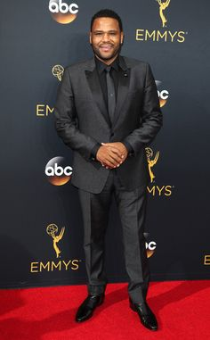 Anthony Anderson from 2016 Emmys Red Carpet Arrivals  In John Varvatos