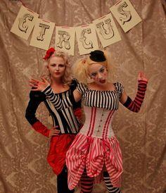 vintage circus costumes