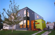 Metal siding with wood grain finish for Hive modular prices