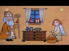Vianočné rozprávanie - Prišiel svätý Mikuláš - YouTube Little Babies, Advent, Diy And Crafts, December, Christmas Decorations, Santa, Youtube, Family Guy, Fictional Characters
