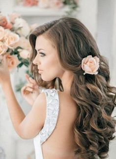 Picture Of Wedding Guest Hairstyles For Long Hair