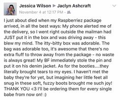 Happy customers make what we do worth while  This is a dream business and we are so thankful for all of you: our followers customers and friends  #Thankful #Raspberriez
