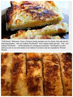 """Pioneer Woman's """"The Bread"""" is so easy and so delicious!"""