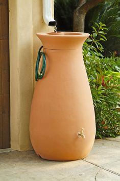 Rainwater Urn, 65 Gallon - add to gutter at end of screen porch, use for watering patio containers