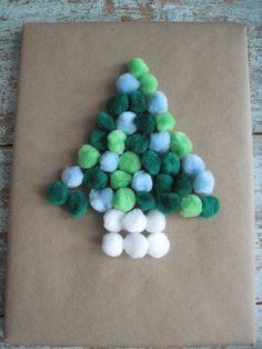Paper craft i un arbre de Nadal