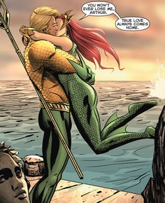 Arthur Curry/Aquaman & Mera - YOUNG ROMANCE