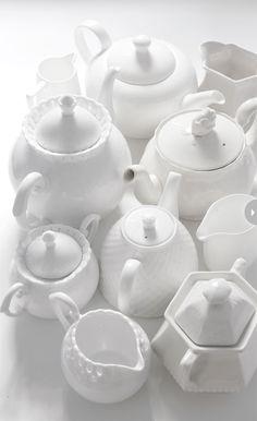 Porcelana clássica e delicadamente simples. (Imagem: Karen Doyle)