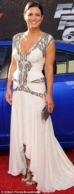 Gina Carano at the Fast6 Premier. I love her! So glad to see her on the big screen again.