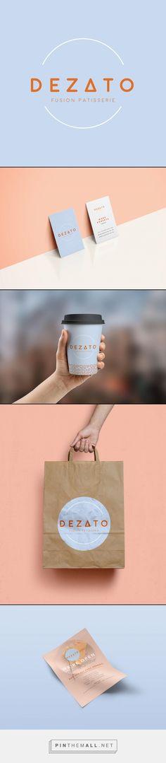 'Dezato' artisan Japanese patisserie branding by design agency, Offbeat Creative.   #offbeatcreative #dezato #branding #brand #identity #design #logodesign #logo #pattern #designagency - created via https://pinthemall.net