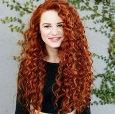 Who else loves this curly red hair  @Bryn Wood