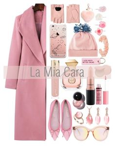 """""""Pink N Pretty: La Mia Cara"""" by lamiacara ❤ liked on Polyvore featuring MAC Cosmetics, Charlotte Russe, Smith & Cult, Tory Burch, Federica Moretti, Various Projects, Karl Lagerfeld, Accessorize, AURA Headpieces and Too Faced Cosmetics"""