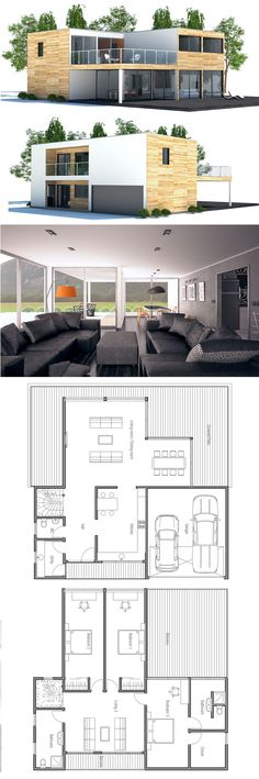 Container House - Casa 2 plantas, planta baja concocina independiente, planta primera 3 dormitorios, 2 baños - Who Else Wants Simple Step-By-Step Plans To Design And Build A Container Home From Scratch?