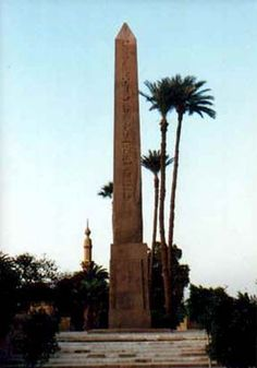 Gezira´s obelisk  - Cairo, Egypt