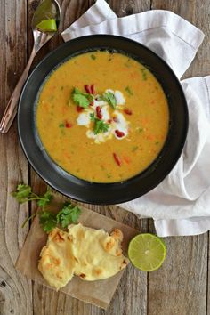 Sun Basket Review & Curried Lentil Soup | mountainmamacooks.com