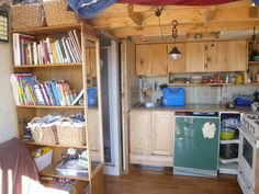 Tiny house in Canada built from a garden shed.