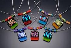 Dichroic Glass Jewelry New advances in the development of materials are constantly affecting the fashion industry, for example new or evolv...