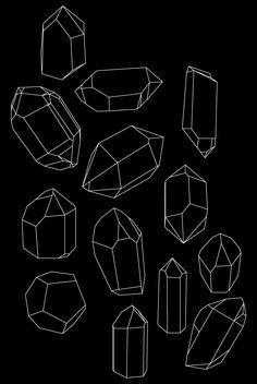 Quartz black & white line sketch crystal drawing and painting idea Gem Drawing, Doodle Drawing, Doodle Art, Drawing Sketches, Art Drawings, Sketching, Doodle Inspiration, Art Journal Inspiration, Crystal Drawing