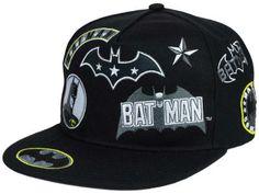Batman DC Comics Patchwork Snapback Hat