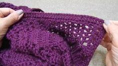 Suéter como unir las Piezas Crochet