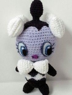 Pokemon Gothita crochet amigurumi