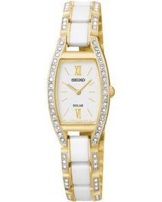 090776543387 Seiko Ladies Dress Solar Watch SUP224P9 Solar Watch