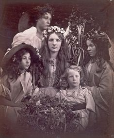vintage everyday: Stunning Early Portrait Photography from the Victorian Era by Julia Margaret Cameron