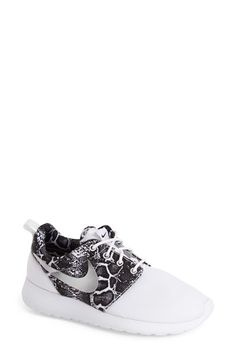 Nike 'Roshe Run' Print Sneaker (Women) available at #Nordstrom
