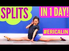 SPLITS TUTORIAL: How To Get Your Splits REALLY Fast - At Home! - YouTube