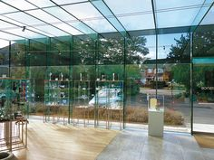 Discussion: Taking a Second Look – Glass Pavilion at Broadfield House in Kingswinford | DETAIL inspiration