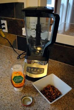 Cheap homemade almond milk with the Ninja blender