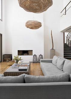Interieur on pinterest door de beams and marcel for Decoration interieur villa luxe