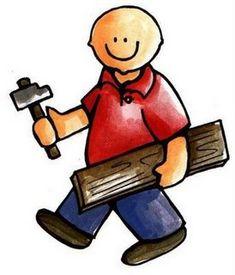 Había una vez un carpintero que siempre estaba trabajando en su taller de carpintería. El trabajaba con mucha alegría y casi siempre cantaba (lalalala, lalalilalalala….Se pueden inventar dife…