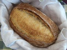 Pain au Levain using Double Flour Addition (technique for increasing aeration in dough during stand mixing; I first tried using Sally's post on her experience: http://bewitchingkitchen.com/2012/01/26/a-sourdough-experiment/)