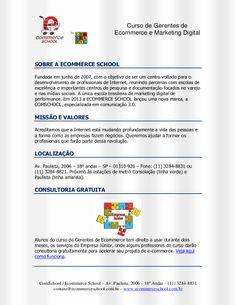 Curso de Gerentes Ecommerce e Marketing Digital by Ecommerce School via slideshare